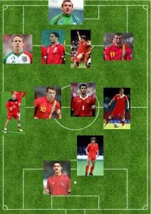 Wales XI - Dan