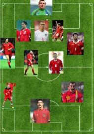 Wales XI - Gaz