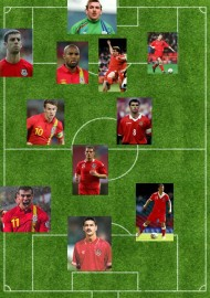 Wales XI - Russell
