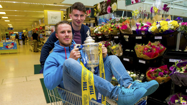 Marley Watkins (he's the one in the trolley)