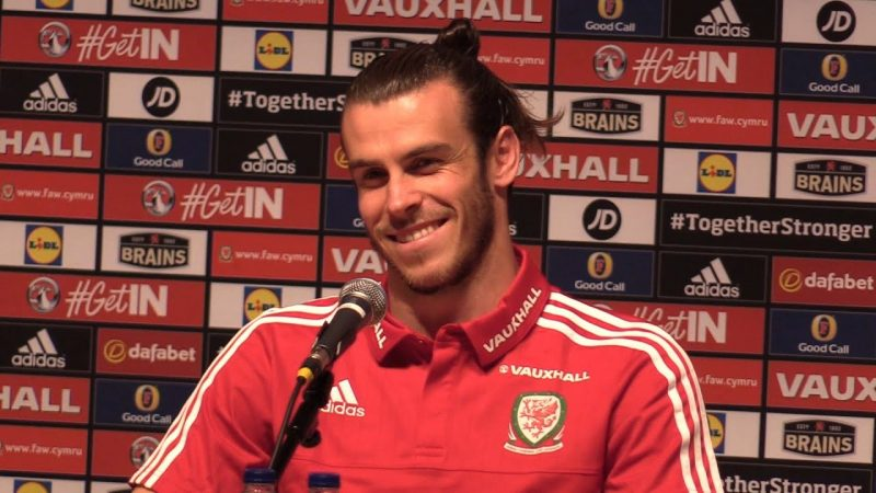 Graetrh Bale, press conference