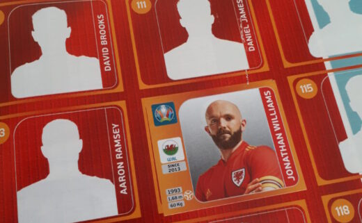 Wales Euro 2020 sticker album
