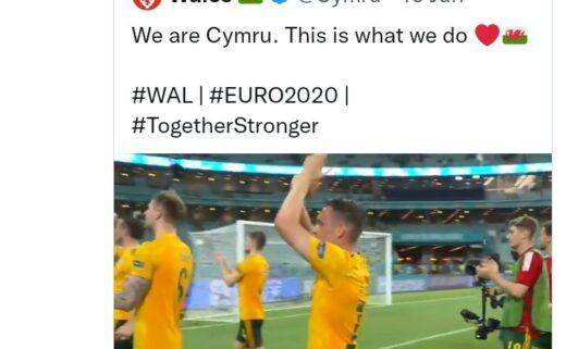 Sorba Thomas tweet about Wales